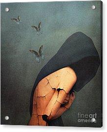 Torment Acrylic Print by Jacky Gerritsen