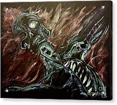 Tormented Soul Acrylic Print