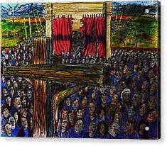 Torn Reaction Number 2 Acrylic Print by Richard  Hubal