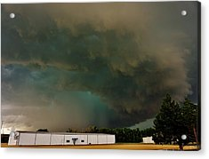 Tornadic Supercell Acrylic Print by Ed Sweeney