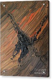 Tornado Abstract Acrylic Print by Shelly Wiseberg