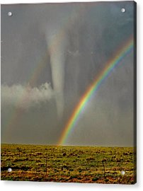 Tornado And The Rainbow II  Acrylic Print