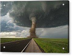Tornado Crossing Acrylic Print by James Hammett