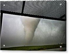 Tornado Near Yorkton Sk. Acrylic Print