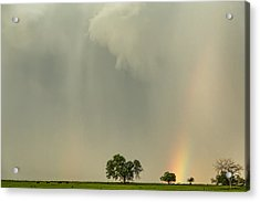Tornadoes In The Air And Optical Illusions Acrylic Print
