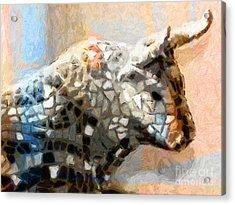 Toro Taurus Bull Acrylic Print by Lutz Baar