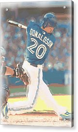 Toronto Blue Jays Josh Donaldson 2 Acrylic Print