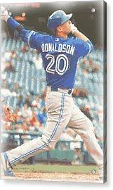 Toronto Blue Jays Josh Donaldson Acrylic Print