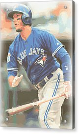 Toronto Blue Jays Troy Tulowitzki Acrylic Print by Joe Hamilton