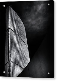 Acrylic Print featuring the photograph Toronto City Hall No 5 by Brian Carson