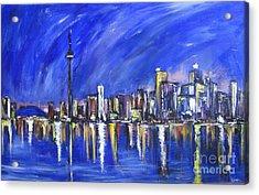 Toronto Acrylic Print by Debora Cardaci