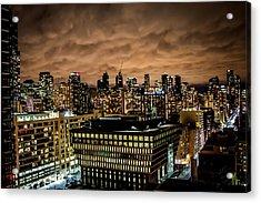 Toronto Dusk Acrylic Print