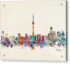 Toronto Ontario Skyline Acrylic Print