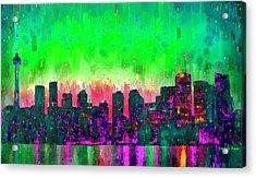 Toronto Skyline 14 - Pa Acrylic Print