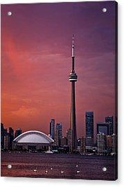 Toronto Sunset Acrylic Print