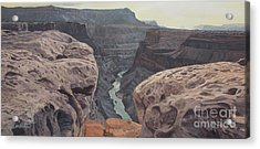Toroweap Overlook Grand Canyon North Rim Acrylic Print by Barbara Barber