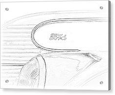 Torpedo Ford Acrylic Print