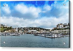 Acrylic Print featuring the photograph Torquay Devon by Scott Carruthers