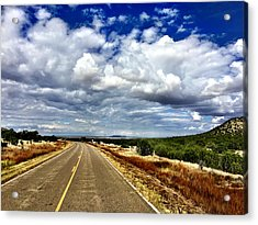 Torrance County Clouds Acrylic Print