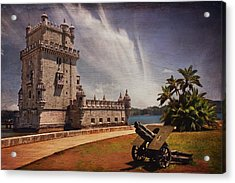 Torre De Belem Lisbon Acrylic Print by Carol Japp