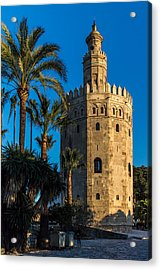 Torre Del Oro Sevilla Spain Acrylic Print