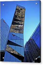 Torre Mare Nostrum - Torre Gas Natural Acrylic Print by Juergen Weiss