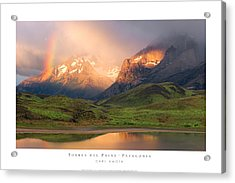 Torres Del Paine - Patagonia Acrylic Print