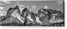 Torres Del Paine National Park - Panoramic Patagonia Photograph Acrylic Print by Duane Miller