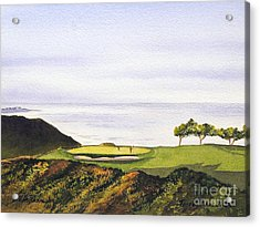 Torrey Pines South Golf Course Acrylic Print