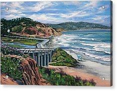 Torrey's Bridge Acrylic Print by Lisa Reinhardt