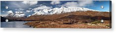 Acrylic Print featuring the photograph Torridon Panorama by Grant Glendinning