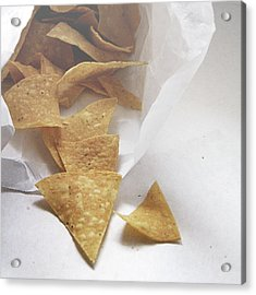 Tortilla Chips- Photo By Linda Woods Acrylic Print