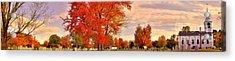 Tory Hill Church Buxton Maine Acrylic Print