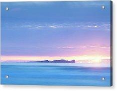 Tory Island Sunset Acrylic Print by Peter McCabe