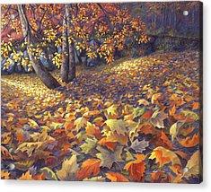 Toscas Trail Acrylic Print