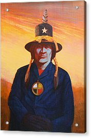 Tosh-a-wah,peneteka Comanche Chief Acrylic Print