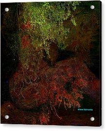 Total Immersion- Tevilah 1 Acrylic Print by Arlene Rabinowitz
