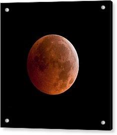 Total Lunar Eclipse Acrylic Print