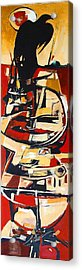 Totem Acrylic Print by Dale  Witherow