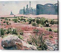 Totem Pole Acrylic Print by Donald Maier