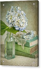 Touch Of Blue Acrylic Print by Cheryl Davis