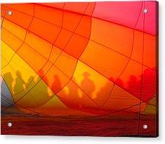 Touch The Rainbow Acrylic Print