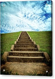 Acrylic Print featuring the photograph Touch The Sky by Alan Raasch