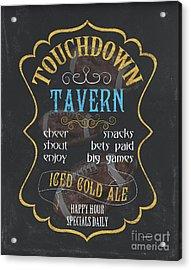 Touchdown Tavern Acrylic Print by Debbie DeWitt