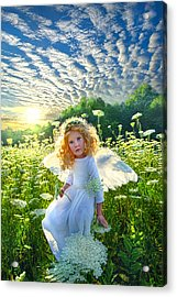 Touched By An Angel Acrylic Print