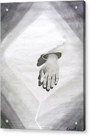 Touched Acrylic Print by Katrice Kinlaw