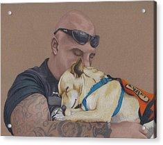 Tough Love Acrylic Print by Stacey Jasmin