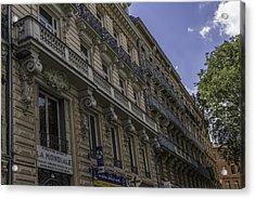 Toulouse Balconies Acrylic Print