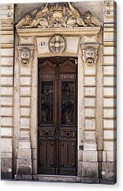 Toulouse Door Acrylic Print