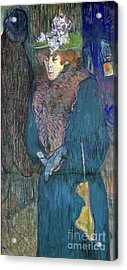 Toulouse-lautrec: J.avril Acrylic Print by Granger